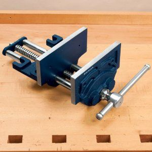 Workbench Leg Vise Or Twin Screw On Front Of Bench By