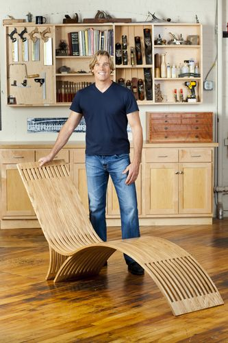 how to make a v steam chair