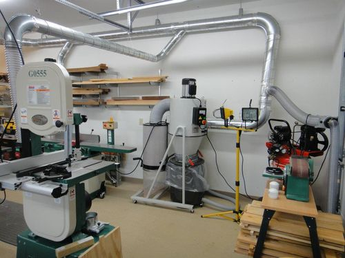 Dust Collection Duct : How do i determine sufficient dust suction by elizabeth