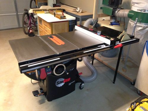 Building The Shop 30 Sawstop Why D I Wait So Long