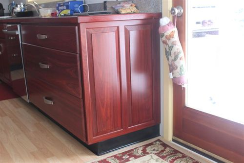 Cabinets using Ladder Bases - End Treatments? - by SantaClaus ...