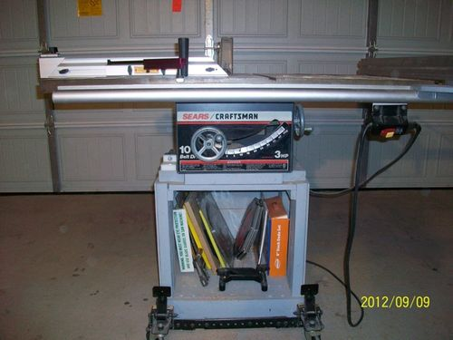 Fence upgrades for craftsman table saw by jarodmorris i have a ridgid ac1036 fence on my saw greentooth Choice Image