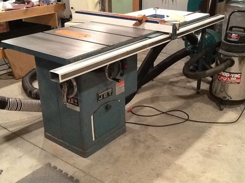 Jet Cabinet Saw Re Hab 26 Calling It Done For Now By