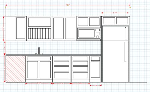 Kitchen Cabinet Build About The Planning Phase By Brohymn - Kitchen cabinet dimensions pdf