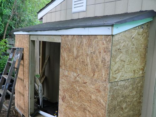 A Small Woodworking Shop Expansion 18 Roofing And Siding