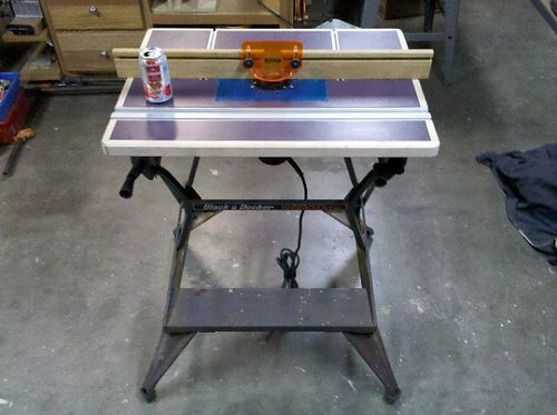 Router table by whitegoodman lumberjocks woodworking community perfection is the difference between too much and not enough greentooth Choice Image