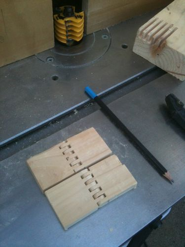Making Wooden Hinges With A Finger Joint Bit By