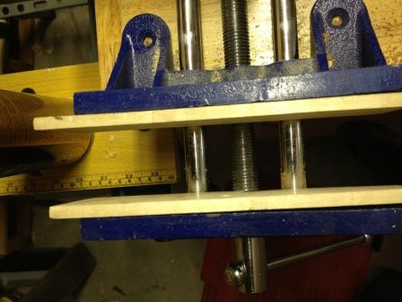 Improvised Magnetic Vise Cheeks By Dongriffith Lumberjocks Com