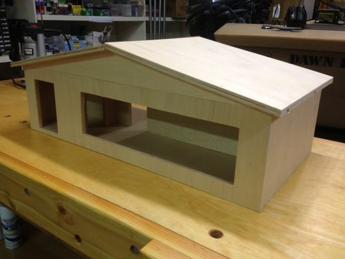 Model of a house for school project