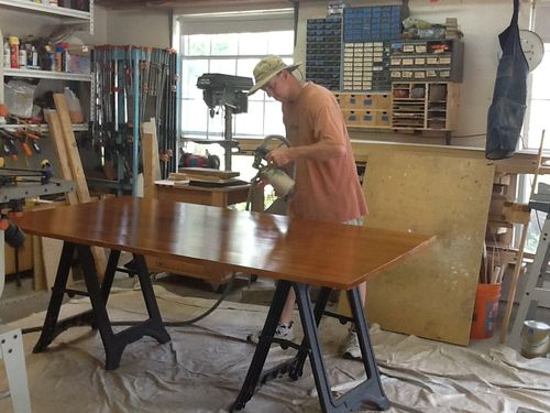 Strong Hard Finish for a Kitchen Table   by DrSawdust   LumberJocks com    woodworking community. Strong Hard Finish for a Kitchen Table   by DrSawdust