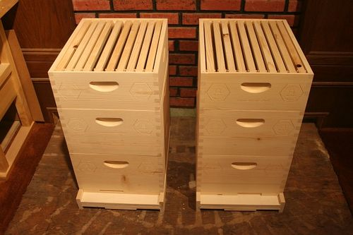 Beehives Coe Bee Farm 1 Beehives 2 And 3 By