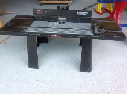 New old router table by chris mcdowell lumberjocks new old router table by chris mcdowell lumberjocks woodworking community greentooth Gallery