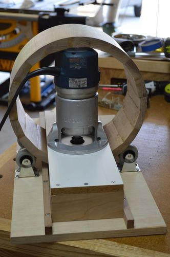 Router Jig For Making Round Boxes By Julian