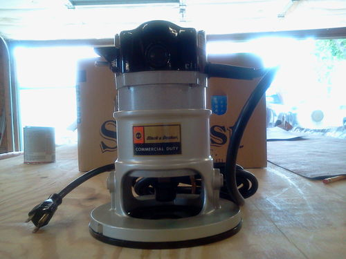 black decker 7620 commercial router by eagle5 lumberjocks com rh lumberjocks com black and decker 7610 type 2 router manual Black and Decker Router Rp250