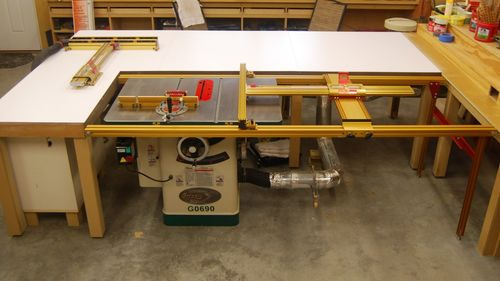 Recent shop updates by barnold lumberjocks woodworking my old router lift was a jet exacta lift jess em mast r lift that worked just fine i updated the router to an m12v a few years ago so i had a good greentooth Image collections
