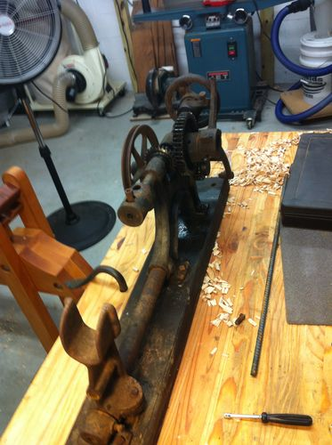Champion Blower and Forge 102 Post Drill Rehab #1: It Begins