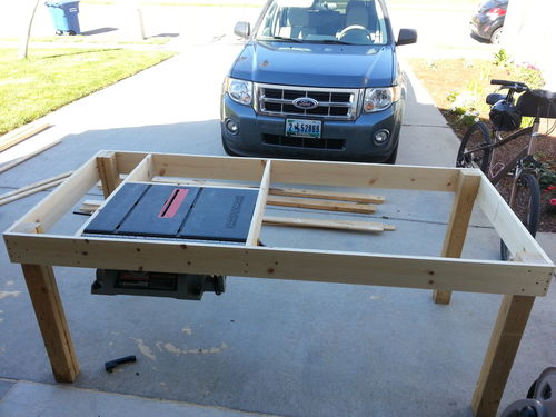 Work Bench 1 Work Table 1 By Trey Lumberjocks Com