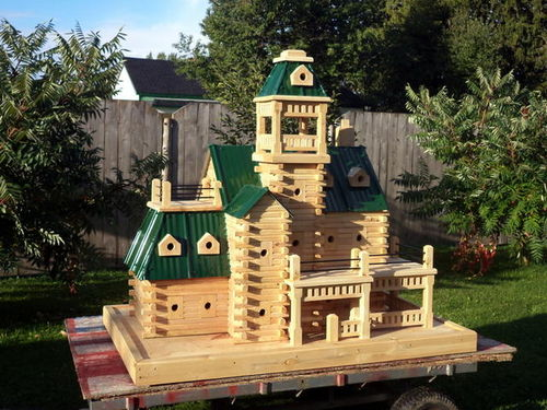 cool birdhouses by ted woodworking. Black Bedroom Furniture Sets. Home Design Ideas