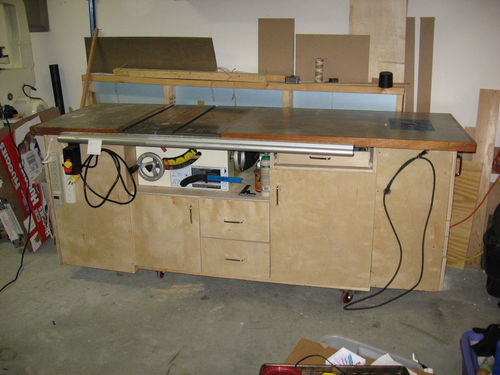... A Bench Top Table Saw . There Is Plenty Of Plans And Ideas On The Web,  Here, And In Magazines. I Did A Quick Internet Search And Posted A Photo  Below