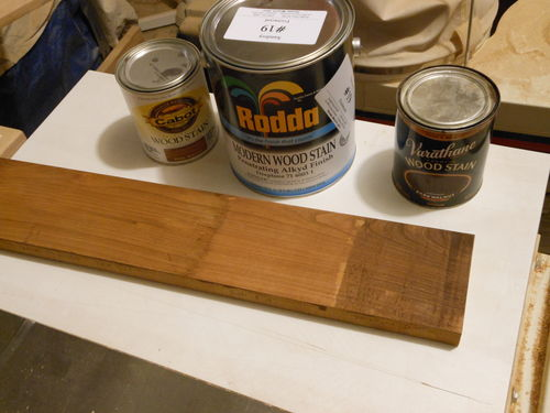 I Have Found It Is The Perfect Mixture To Prevent Blotching Yet Achieve Rich Darker Colors Cabot Walnut Rodda 19 Fruitwood And Varathane Dark