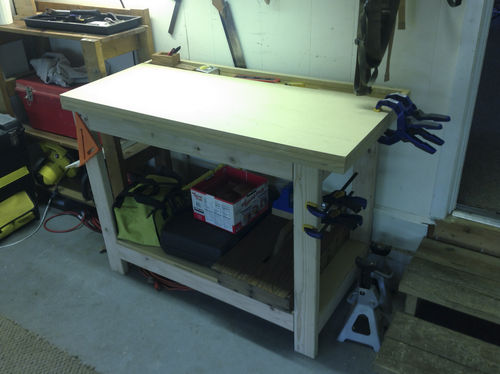 Holdfast In Mdf Bench Top By Christian Holihan Lumberjocks Com Woodworking Community