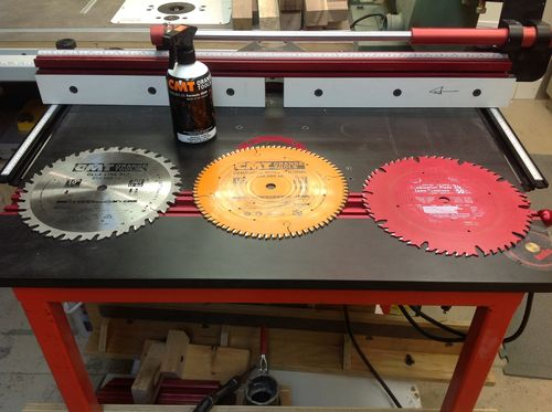 Table saw blade options thin kerf blade or standard 18 by if you believe you can or can not do a thing you are correct greentooth Images