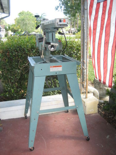 Radial Arm Saw 1 New Table For My Radial Arm Saw By
