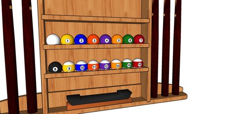 Design Your Own Pool Cue Diy Pool Cue Holders Pallet Pool Stick