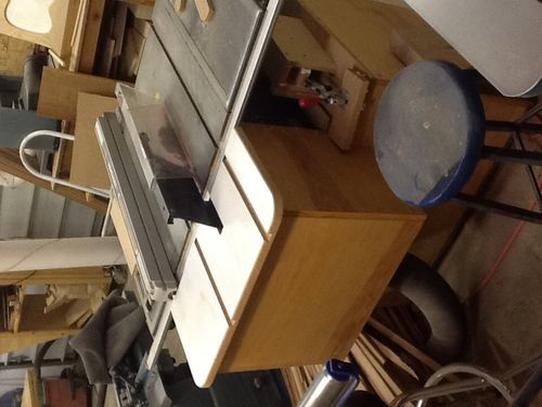 Needing Better Dust Collection At My Table Saw By Hjt