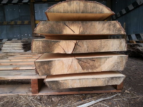 Sawing Live Edge Flitches And Slabs By Deadoakcarvings