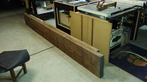 Stupendous Joining Large Slabs For Workbench Top By Qball Dailytribune Chair Design For Home Dailytribuneorg