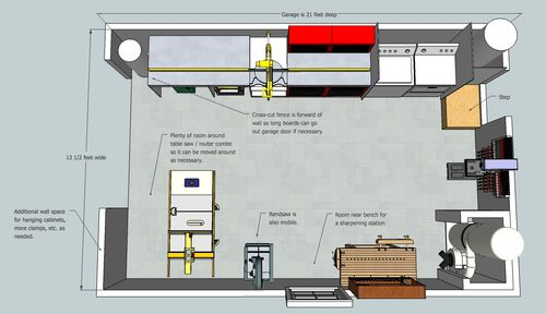Building the ultimate garage woodshop 4 sketchup plans for Ultimate garage plans