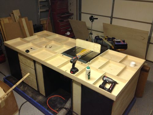 The Ultimate Table Saw Cabinet - by Drew - Rock-n H ...