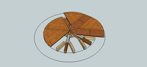 Looking For Jupe Table Plans Or Expanding Round Table Plans By
