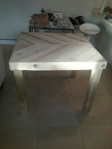 Pic Is Of Underside And Of Tabletop With The Legs (not Attached U2013 Just  Sitting Under) For An Idea Of The Project.
