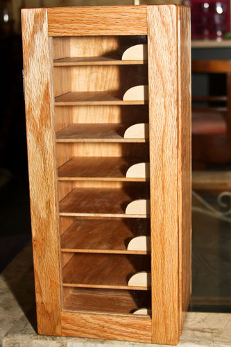 Education and torment #2: Red Oak Sandpaper Storage cabinet - by ...