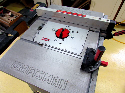 Can i convert my craftsman table saw into just a router table i hope this was helpful al alfromelkhornyahoo greentooth Gallery