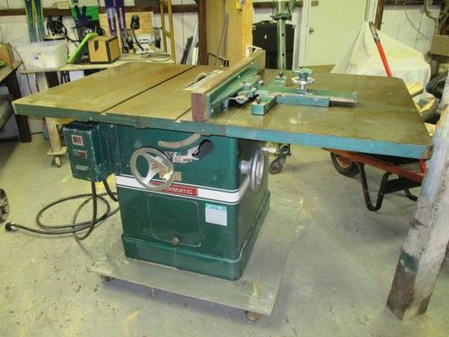 Researching Powermatic 72 cabinet saw with unusual fence