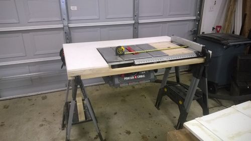 Table saw router upgrade by aarons for Diy portable router table