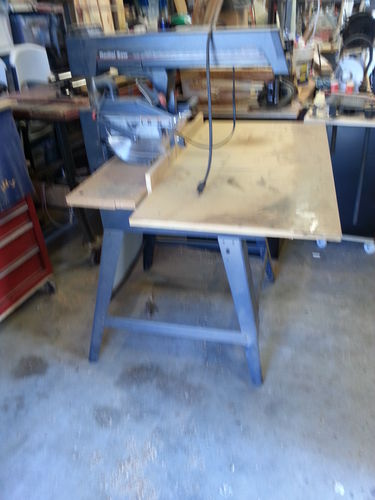 Tools #5: Radial Arm Saw base from filing cabinets. - by PASs ...