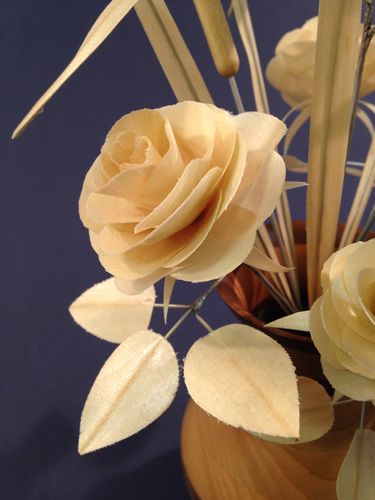 Making Wooden Flowers 3 Cutting The Petals By Ronbrush
