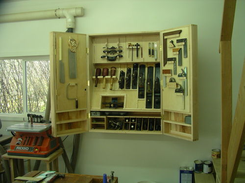 Wall Hung Tool Cabinet #5: Fitting out the other door - by ...