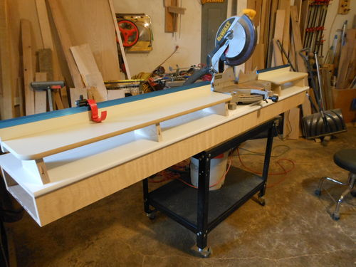 Less Than Ultimate Miter Saw Station 1 Building The