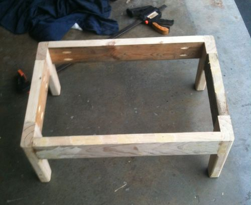 Working with recycled timber #24: PTLT making the frame - by ...