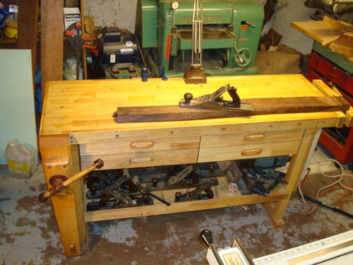 Mods For Harbor Freight 60 Workbench By Adhdan Lumberjocks Com