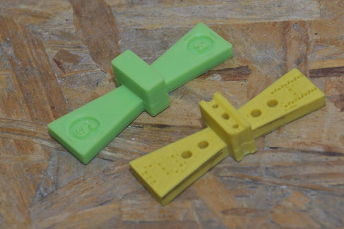 3d printed dovetail template by nisker for Dovetail template maker