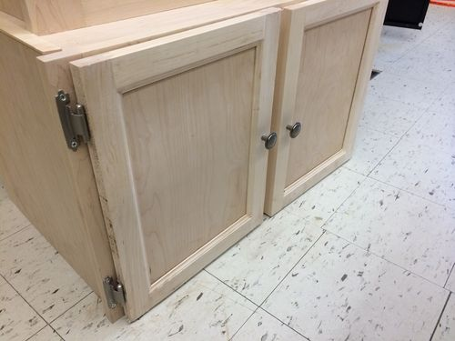 Gun Cabinet 5 Construction Of The Bottom Cabinet Doors By