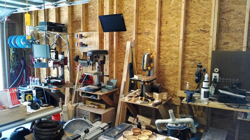 Converting My Garage from a SemiWorkshop to a full WoodMetal