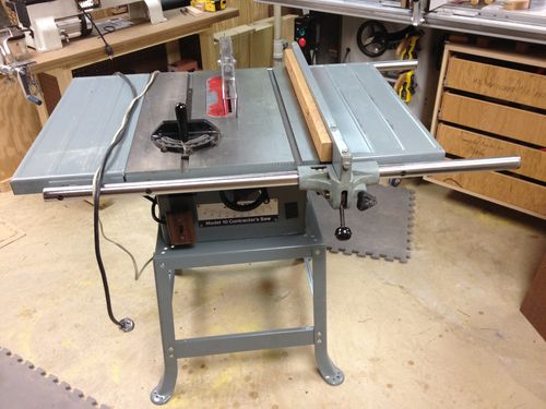 Delta 10 contractors table saw by beard lumberjocks for 10 inch delta table saw