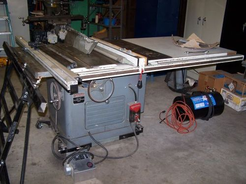 Over The Last Several Years I Have Bought And Fixed Up, Then Traded Off  Several Saws. This One Is My Favorite So Far, A 1968 Delta Rockwell 12u201d 14u201d  Tilting ...